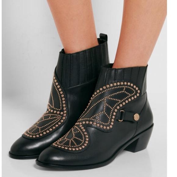 05a677db5e1 Sophia Webster Karina Butterfly Studded Ankle Boot.  M 5b191a56819e90da79d757b9